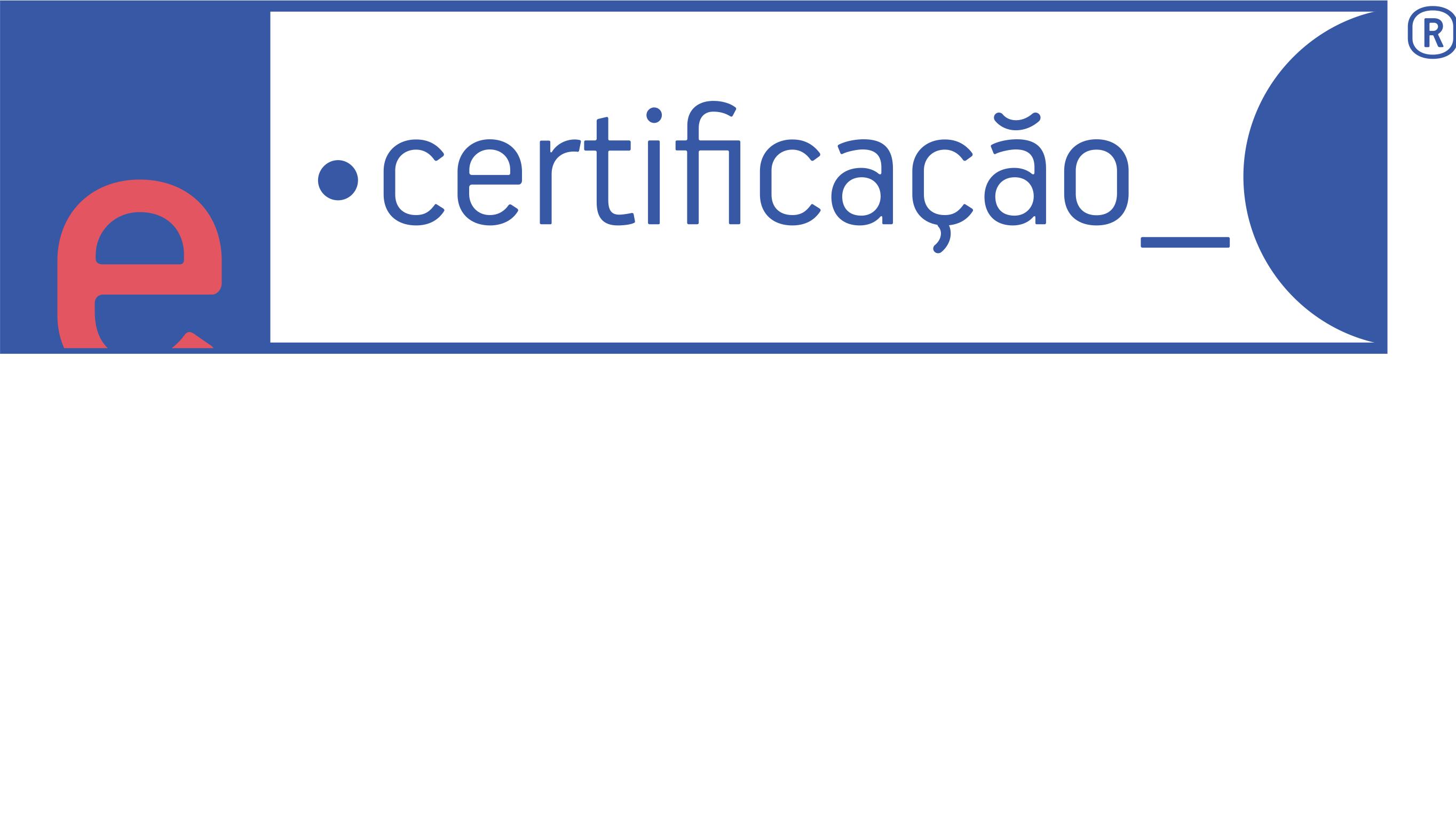 Logotipo do parceiro E-CERTIFICAÇÃO