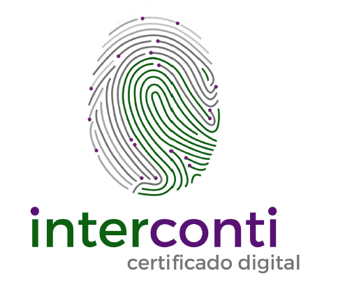 Logotipo do parceiro INTERCONTI CERTIFICADO DIGITAL